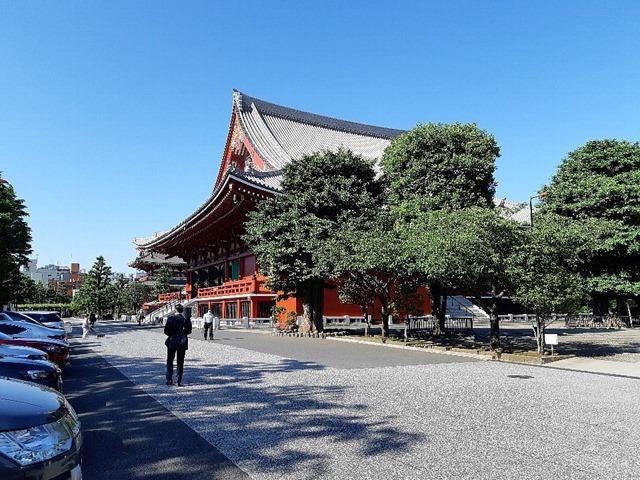 新しい日常ーwith コロナ。近頃の浅草寺は日常なのかな?