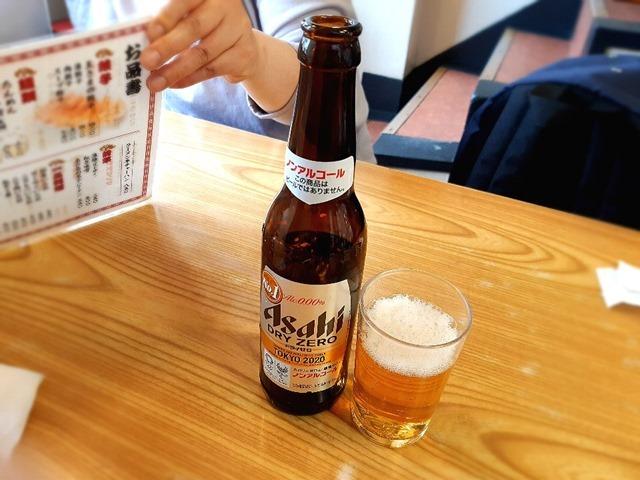 本当はビールが呑みたかったのにノンアルコールビールになってしまった