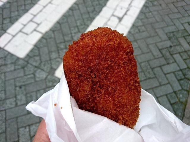 トキワヤ肉店のメンチカツ
