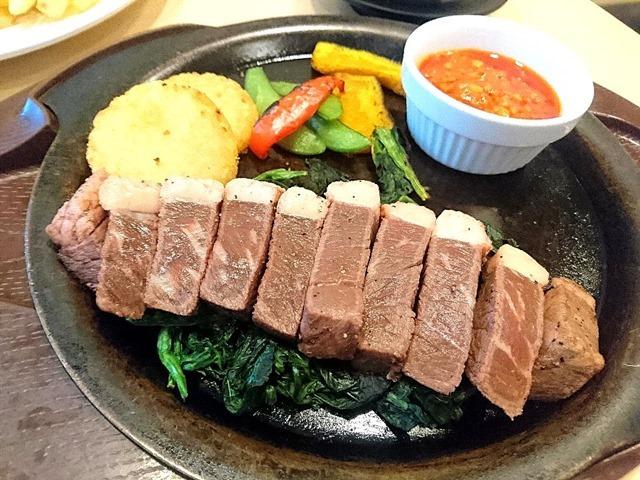 イチボの熟成赤味ステーキ