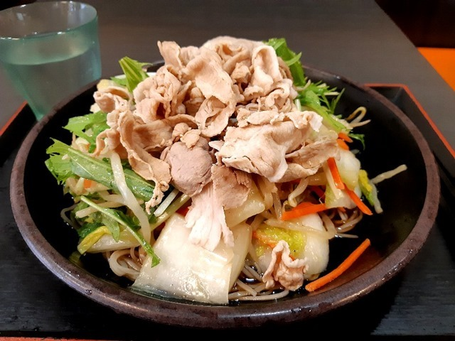 マシマシ肉野菜そば(冷)