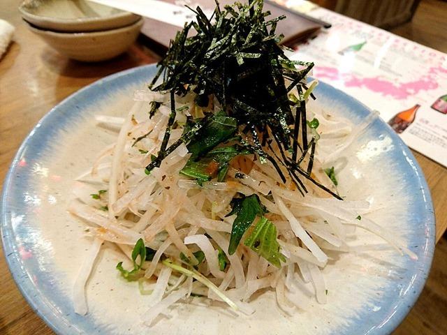 大根と大葉のさっぱりサラダ