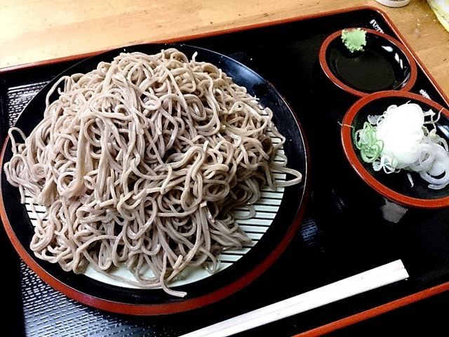 京橋_恵み屋のダッタン蕎麦(大盛)