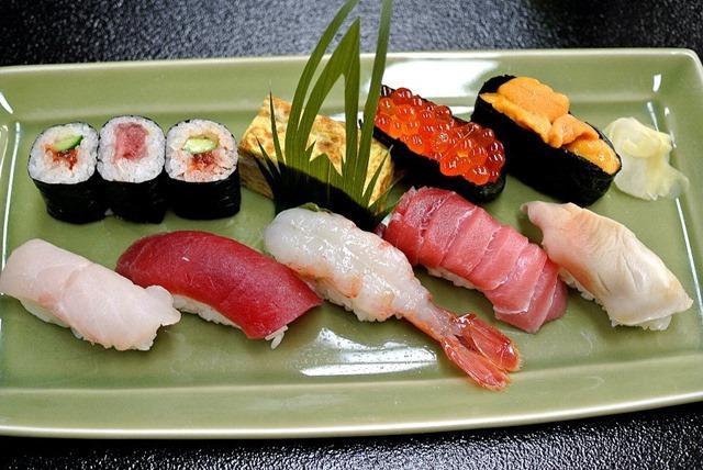 お寿司一人前