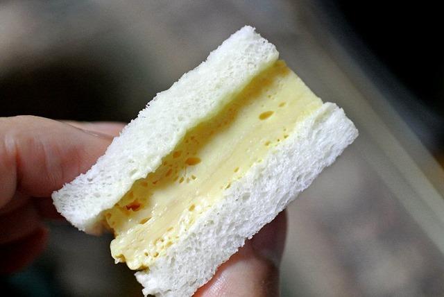「天のや」の「たまごサンドイッチ」