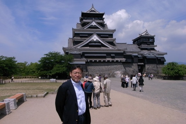 熊本城にて(2010年05月29日)