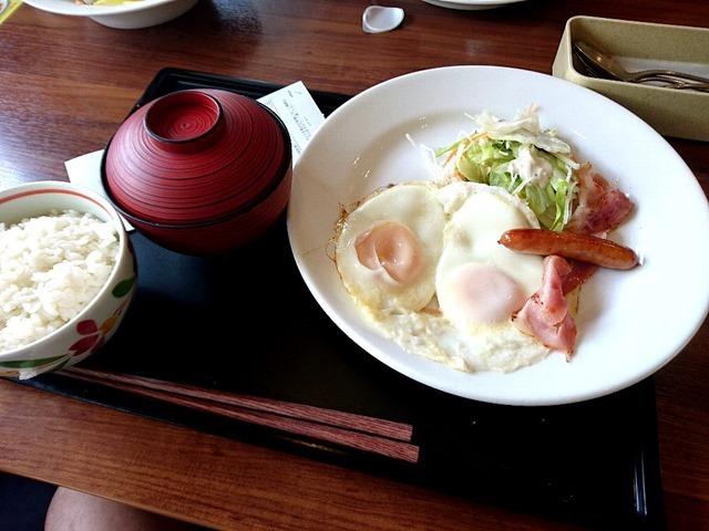 ベースドエッグ+ご飯セット