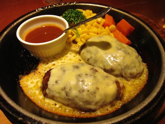 チーズハンバーグ200g
