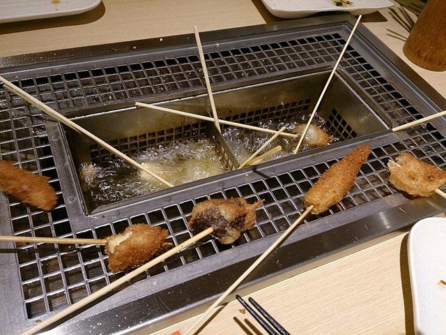 神楽食堂串家物語アルカキット錦糸町店の串揚げ