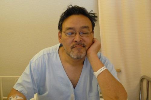 入院中のあたし