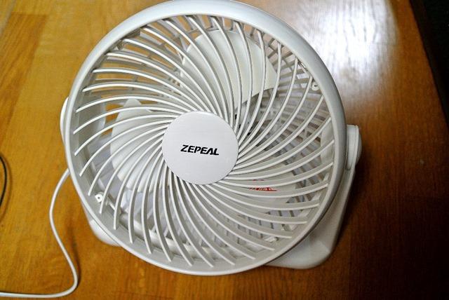 ZEPEAL_サーキュレーター_ホワイト_DKS-20W