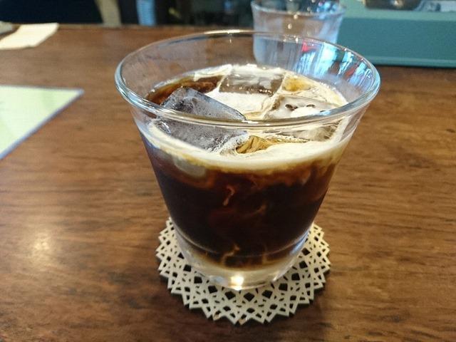 いなだ珈琲舎のアイスコーヒー