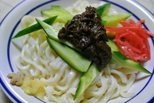 白龍の元祖盛岡じゃじゃ麺(自家製)