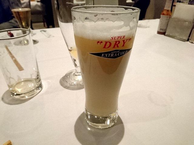 マスカットのビールカクテル