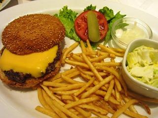 チーズチーズバーガー