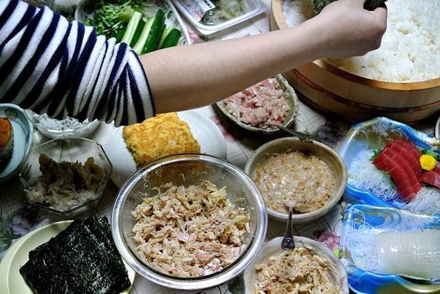 毛蟹の晩餐