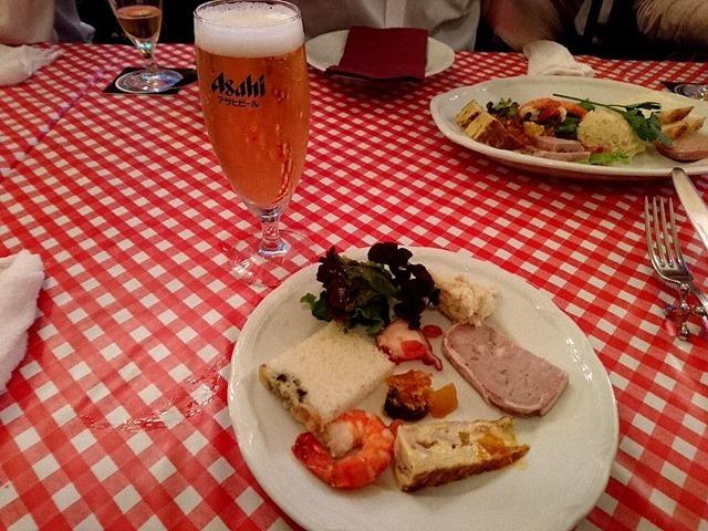 CHEERS浅草 トラットリア&薪窯ピッツェリアのテーブルクロス