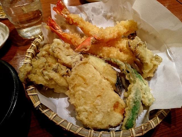 天ぷら〈七品〉盛合わせ
