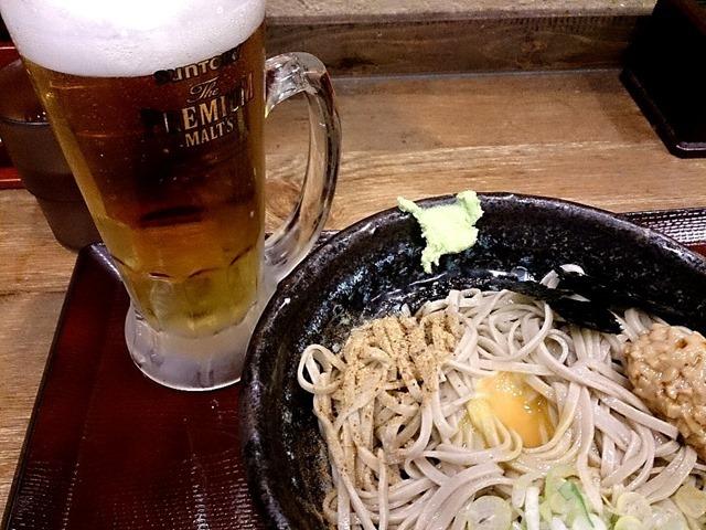 ビールがうまい