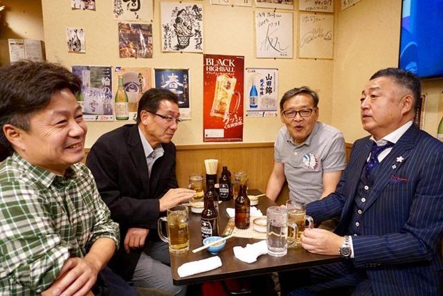 北谷さん、岩船さん、桃知、櫻井さん