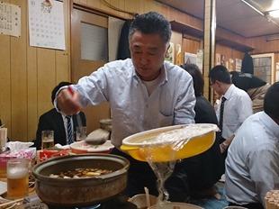鍋奉行は櫻井さん