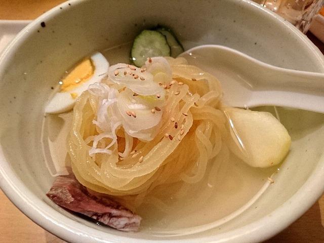 ハーフ冷麺