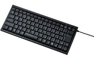 ELECOM パンタグラフ式キーボード 86キー USB Mサイズ ブラック TK-FCP026BK