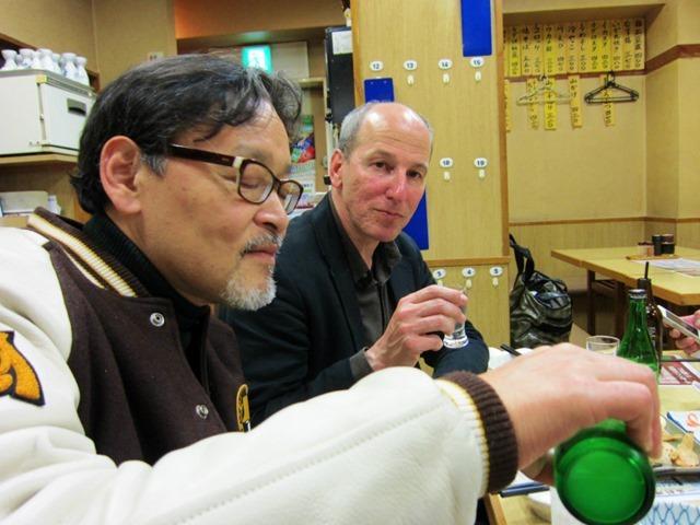 レモンハイを呑むあたしと日本酒のモラスキー氏